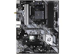 ASRock B550 Phantom Gaming 4/AC AMD Socket B550 AM4 ATX M.2 Desktop Motherboard B