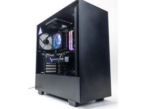 Custom Gaming Desktop PC - AMD Ryzen 7 3700X - GeForce RTX 2060 Super 8GB - 16GB DDR4 RAM - 512GB NVME M.2 SSD - No HDD
