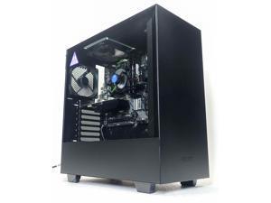 """Custom Gaming Desktop PC - Intel i5-9400F 2.9GHz - 16GB DDR4 RAM - 256GB 2.5"""" SSD (Solid State Drive) - 400w 80+ Bronze PSU - Wi-Fi"""