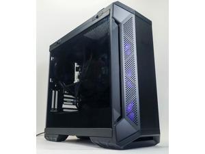 Custom Gaming Desktop PC - Intel i7-8700 3.2GHz - AMD RX 580 4GB - 16GB DDR4 RAM - 240GB M.2 SSD (Solid State Drive) - 1 TB HDD - 500w 80+ Bronze PSU - Wi-Fi