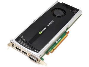 Dell Quadro 4000 Single Fan 2GB GDDR5 38XNM Video Graphic Card GPU