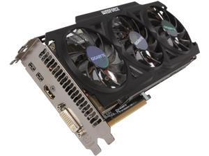 Gigabyte Radeon R9 280X WINDFORCE 3X 3GB GDDR5 GV-R928XOC-3GD Video Graphic Card GPU