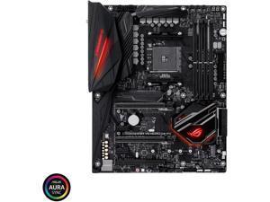 ASUS ROG CROSSHAIR VII HERO AMD Socket X470 AM4 ATX Desktop Motherboard A