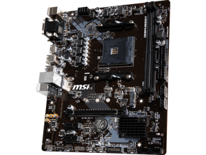 MSI A320M PRO-M2 V2 AMD Socket A320 AM4 MicroATX M.2 Desktop Motherboard A