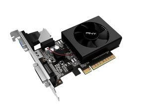PNY GeForce GT 710 2GB DDR3 VCGGT7102XPB VGA, DVI, and HDMI Graphics Video Card GPU