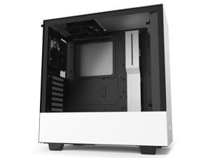 NZXT H510 White ATX Mid Tower - Tempered Glass Desktop Computer Case Grade B