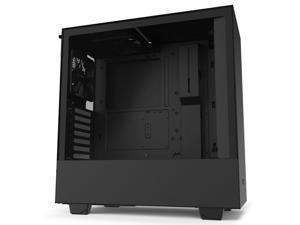 NZXT H510 Black ATX Mid Tower - Tempered Glass Desktop Computer Case Grade B