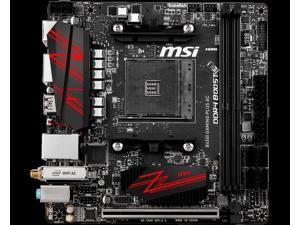 MSI B450I GAMING PLUS AC AMD Socket B450 AM4 Mini-ITX M.2 Desktop Motherboard B