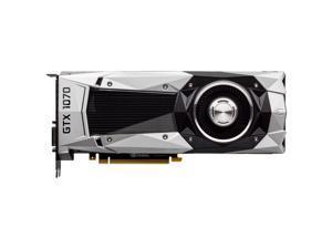 EVGA Nvidia Geforce GTX 1070 8GB Founders Edition GDDR5 GPU (08G-P4-6170-KR)