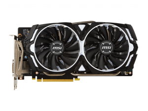 MSI Geforce GTX 1060 3GB Armor OC GDDR5 3G OCV1 Video Graphics Card GPU