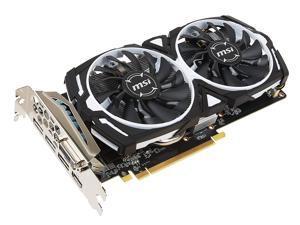 MSI RX 570 4GB Armor OC GDDR5 Radeon RX 570 ARMOR 4G OC Video Card GPU