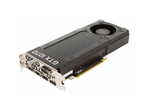 Zotac Geforce GTX 1070 8GB Blower GDDR5 ZT-P10700J-10B Video Card GPU