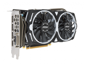MSI Radeon RX 470 8GB Dual Fan GDDR5 ARMOR OC Video Card Graphics GPU