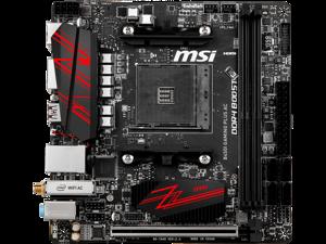 MSI B450I GAMING PLUS AC AMD Socket B450 AM4 Mini-ITX M.2 Desktop Motherboard A