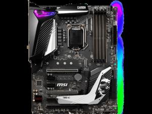 MSI MPG Z390 GAMING PRO CARBON AC Intel Z390 1151 LGA ATX M.2 Desktop Motherboard A