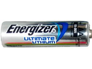 4-Pack AA Energizer Ultimate Lithium (L91) 1.5 Volt Battery