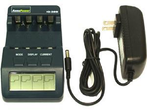 IQ-328 AA & AAA Smart LCD Battery Charger / Tester / Analyser