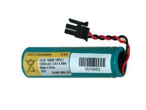 3.7 Volt Varta Li-Ion 18650 Battery (1500 mAh) with PCB & Molex Connector