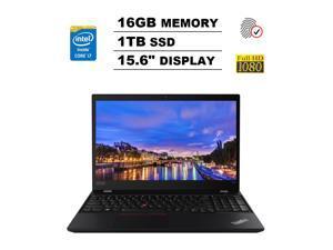 "Lenovo ThinkPad T590 15.6"" FHD Full HD (1920x1080) Business Laptop (Intel Quad-Core i7-8565U, 16GB DDR4 RAM, 1TB PCIe M.2 SSD) Backlit, Type-C Thunderbolt 3, Webcam, HDMI, RJ-45, Windows 10 Pro"