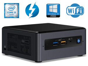 Intel NUC 8 Mainstream Kit NUC8i5BEHS Mini Business & Home PC Desktop (Quad-Core i5-8260U, 16GB DDR4 RAM, 256GB PCIe SSD) Type-C Thunderbolt 3, RJ-45, HDMI, Wi-Fi, BT5.0, Windows 10 Pro