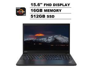 "Lenovo ThinkPad E15 15.6"" IPS FHD (1920x1080) Business Laptop (AMD 8-Core Ryzen 7-4700U (Beat i7-8750H), 16GB DDR4 RAM, 512GB PCIe M.2 SSD) Type-C, HDMI, Wi-Fi 6, RJ-45, Webcam, Windows 10 Pro"