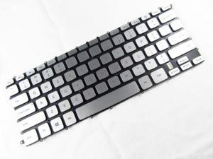 """NEW US backlit keyboard for for Dell Inspiron 14-7000 14-7437 14"""" laptop silver"""