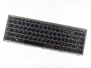 Genuine New Lenovo IdeaPad P500 Black US Keyboard with Silver-Grey Frame