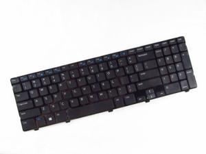 New for Dell Inspiron 15 3521 15R 5521 US Black Keyboard with Frame