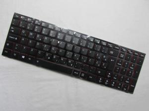 Genuine 25205516 LENOVO IdeaPad Y510 Y510p US UI backlit Keyboard