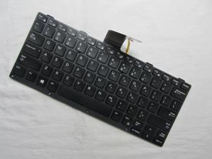 Genuine for Dell 0KNJ-1L1US13 NSK-LKCBU US Backlit Keyboard 186TV 0186TV New