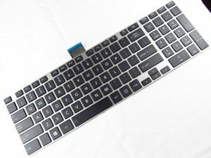 NEW FOR Toshiba Satellite S55-A S55t-A S55D-A Keyboard US non-Backlit Frame