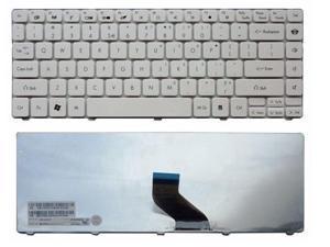 Laptop Keyboard Replacement for Gateway NV49C NV49C01c NV49C13c NV49C14c Series US Layout//White Color