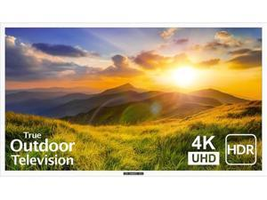 """SunBrite 43"""" Outdoor TV 4K HDR - Signature 2 Series - for Partial Sun SB-S2-4355-4K-WH (White)"""