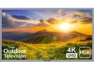 """SunBrite 55"""" Outdoor TV 4K HDR - Signature 2 Series - for Partial Sun SB-S2-55-4K-BL (Silver)"""