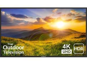 "SunBrite 75"" Outdoor TV 4K HDR - Signature 2 Series - for Partial Sun SB-S2-75-4K-BL (Black)"