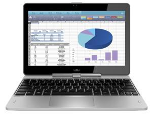 "HP EliteBook Revolve 810G3 Laptop Computer, 2.90 GHz Intel i5 Dual Core Gen 5, 8GB DDR3 RAM, 180GB SSD Hard Drive, Windows 10 Home 64 Bit, 11"" Screen (B GRADE)"