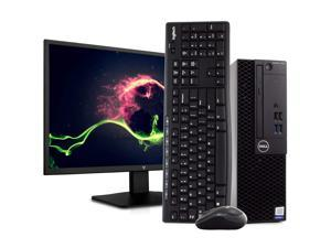 "Dell OptiPlex 3050 PC Desktop Computer, Intel i5-7500 3.4GHz, 16GB RAM, 512GB SSD, Windows 10 Pro, New 23.6"" FHD LED Monitor, New 16GB Flash Drive, Wireless Keyboard & Mouse, DVD, WiFi"