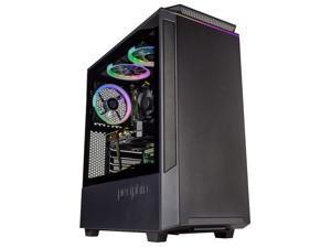 Periphio Phantom Gaming PC Tower Desktop Computer, Intel Quad Core i7 3.3GHz, 16GB RAM, 512GB SSD + 1TB 7200 RPM HDD, Windows 10, GTX 1660 Super 6GB Graphics Card, HDMI, Wi-Fi