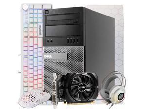 Dell Gaming Computer Tower PC, Quad-Core Intel i5, NVIDIA GeForce GT 730 2GB, 16GB DDR3 RAM, 512GB SSD + 1TB HDD, Wi-Fi, RGB 4in1 PC Gaming Kit, Windows 10, Renewed