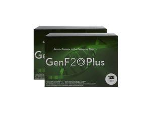 Two boxes GenF20 Plus naturally restore IGF1 levels for improved energy, youthful look, and improved metabolism