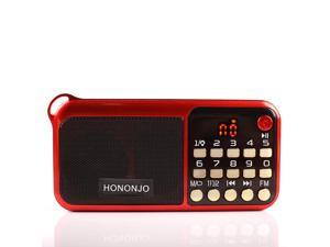 mini Portable speakers outdoor Dancing speaker tf card fm radio Music Surround MP3 player old man C-828