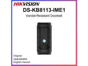 HIKVISION DS-KB8113-IME1 Vandal-Resistant Doorbell 2MP Camera IP65 IK09 Doorbell Two-Way Talk DC12V PoE EZVIZ