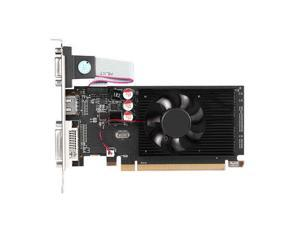 Veineda GPU  Office Graphics Card Computer PCI Express Accessories Video Game 6450 2GB DDR3 HDMI