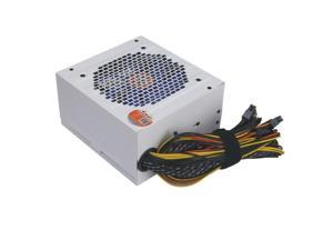 90-270V Max 550W Power Supply Computer Pc Cpu 12V 20+4Pin 120Mm Silent Fan Pcie-E Sata Power Adapter For Intel Amd Computer Us