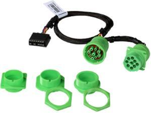Geotab Universal Heavy-Duty T-Harness Kit — Multi-connector kit includes a 9-pin T-harness and ?4 different mounting adapters for use in most Heavy-Duty international vehicles.