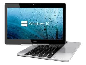 "HP Revolve 810G1 Laptop Computer, 1.90 GHz Intel i5 Dual Core Gen 3, 4GB DDR3 RAM, 128GB SSD Hard Drive, Windows 10 Home 64 Bit, 11"" Widescreen Screen (B GRADE)"