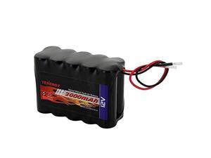 tenergy nimh battery pack 12v 2000mah high capacity rechargeable battery w/bare leads replacement battery pack for diy, medical