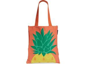 Sunnylife Summery, Playful Print Enlivens a Colorful Cotton-Canvas Print Tote with Top Carry Handles, Yellow