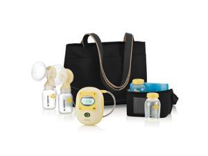 Medela Freestyle Mobile Rechargable Double Electric Breast Pump, Hands Free with Digital Display and Memory Button