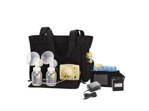 Medela Pump in Style Advanced With Tote, Electric Breast Pump for Double Pumping, Portable Battery Pack, Black